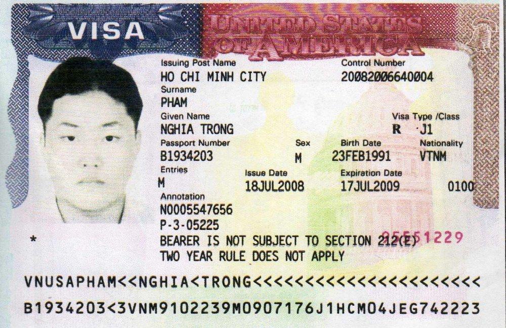 Các Loại Visa Mỹ
