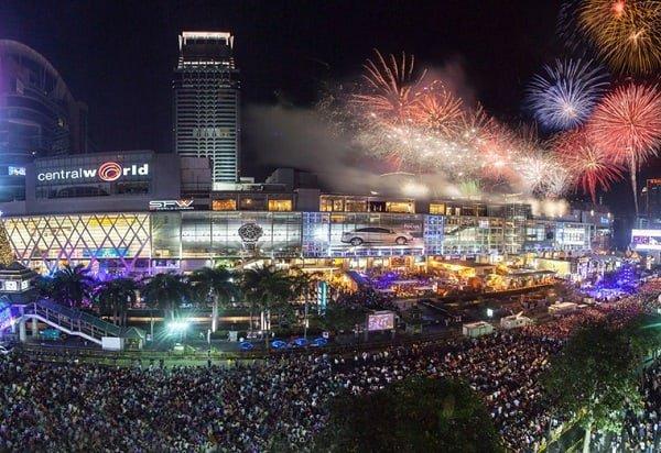 Địa điểm đón giao thừa ở Bangkok đông vui nhất, Central World