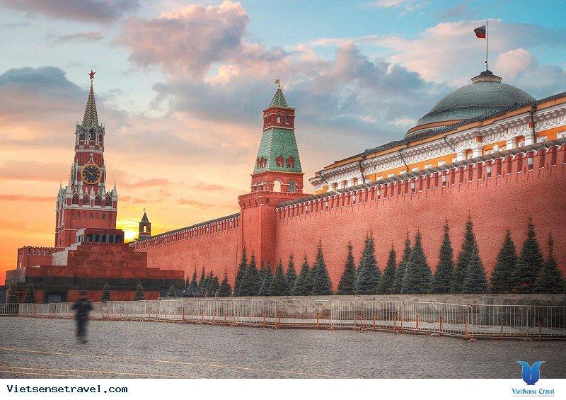 Khám Phá Biểu Tượng Nước Nga Mang Tên Điện Kremli