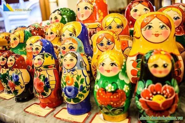 Biểu tượng văn hóa Nga: Búp bê Matryoshka