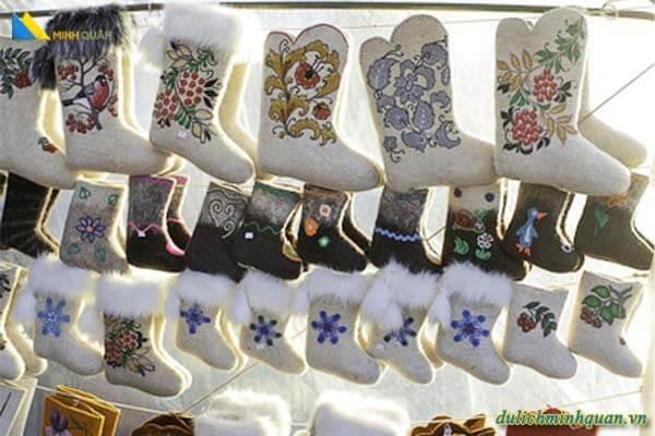 Biểu tượng văn hóa Nga: Ủng Valenki