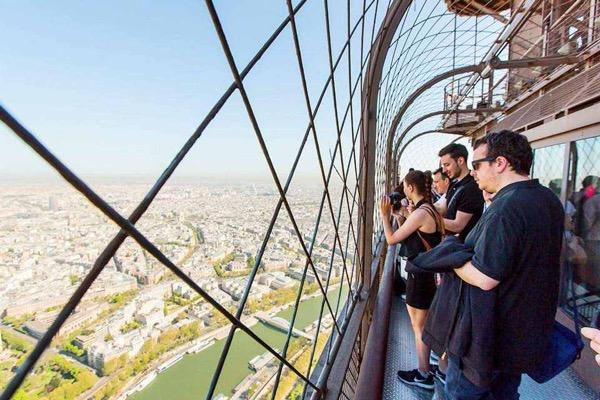 Ngắm Paris từ trên cao