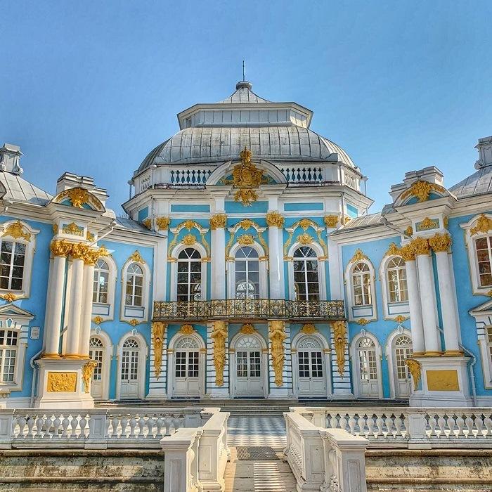 Cung điện Mùa Đông - Công trình kiến trúc xa hoa và nổi tiếng của nước Nga -