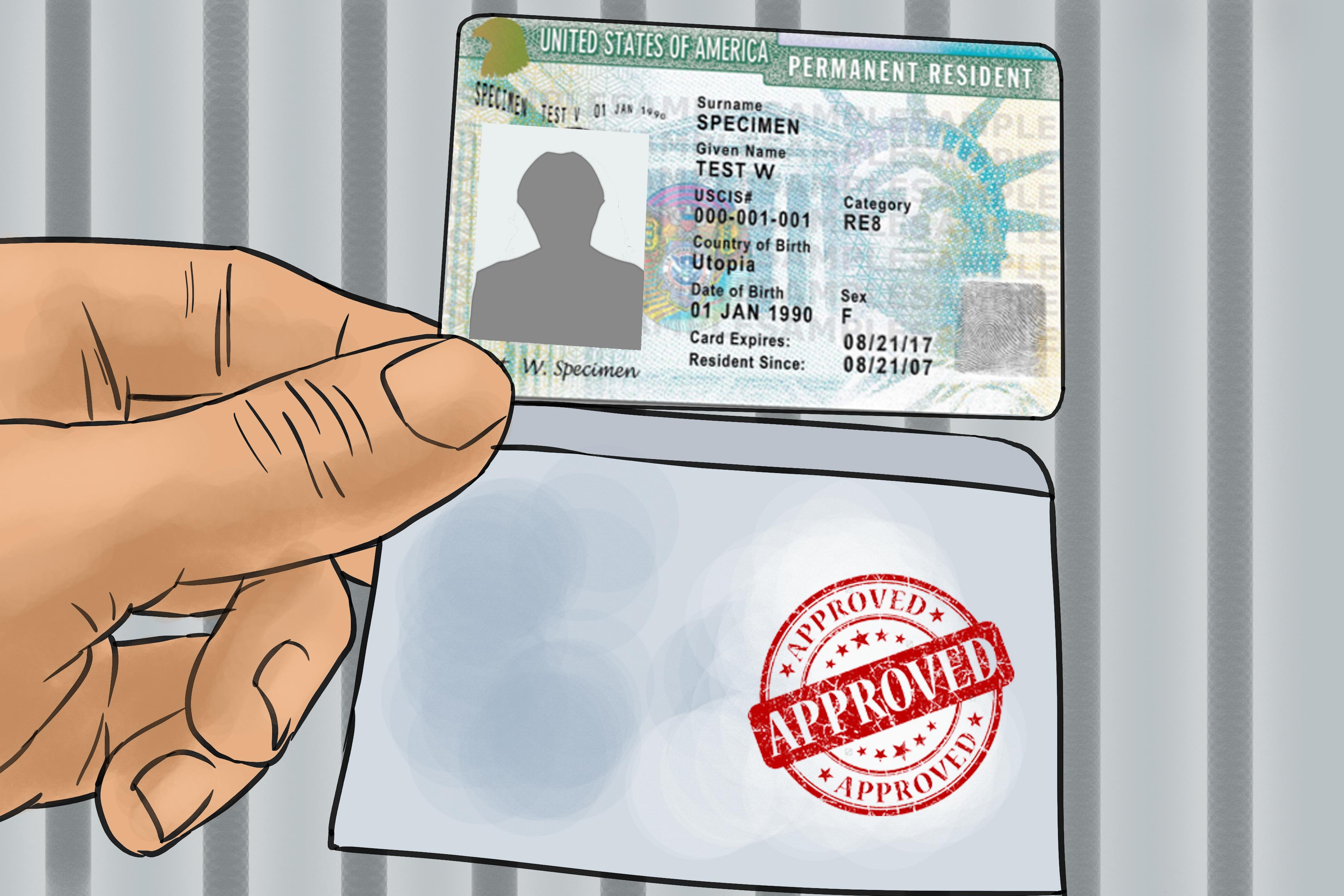 Điều kiện để nhận thẻ xanh của Mỹ bạn cần biết